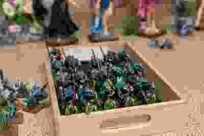 Londoner Robert Wardhaugh has been running a 38-year-long game of Dungeons and Dragons. He also has a collection of more than 20,000 miniatures and terrain pieces. (MAX MARTIN, The London Free Press)