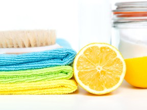 Lemon juice and baking soda are effective home-cleaning tools.