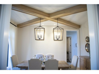 Dining room of 2397 Meadowlands Way in London, one of the Dream Lottery prizes. (Derek Ruttan/The London Free Press)