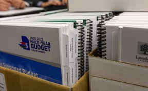 Multi-Year budget being tabled at city council chambers in London. (File photo)