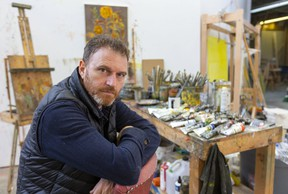 Western visual arts professor Sky Glabush travelled to Guyana and visited the prisons in that poor South American country.  (Mike Hensen/The London Free Press)