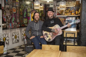 London restaurateurs Justin, left, and Gregg Wolfe have closed the Little Bird, their Wortley Village breakfast eatery, amid the fallout of COVID-19 and are turning it into the more takeout-friendly El Poco Lobo, a smaller version of their popular Los Lobos Mexican restaurant on Talbot Street. (Derek Ruttan/The London Free Press)