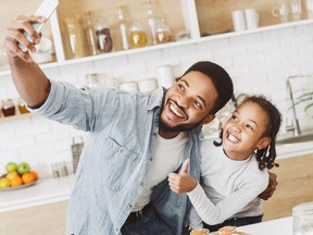 The recent pandemic is shining a light on how dads are positively reacting to their children and families this year