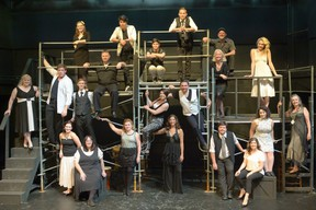 The cast from Musical Theatre Productions' 2014 hit musical, which will be broadcast online Wednesday, Sept. 20, at 8 p.m. as a virtual fundraiser for the struggling, COVID-idled company. (Supplied)