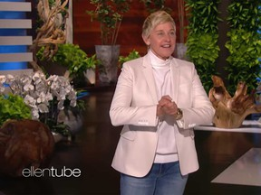 Ellen DeGeneres addresses workplace misconduct allegations in the premiere episode of the 18th season of her show.