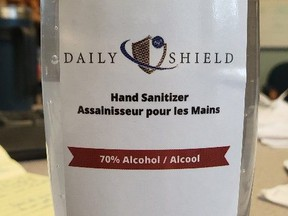 Health Canada says a lot of the Daily Shield hand sanitizer sold at a Thunder Bay Dollarama, and possibly at other Canadian locations, has been deemed counterfeit.