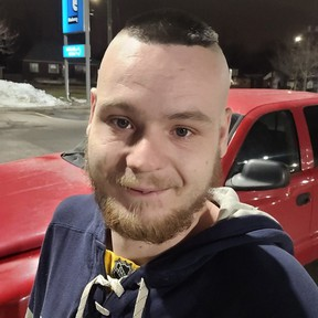 Twenty-four year-old Raymond McElmon is crediting London police with saving him from choking after officers responded to his house and performed the Heimlich manoeuvre on him. Supplied photo.