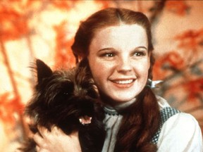 Judy Garland's rendition of Over The Rainbow in the 1939 film classic The Wizard Of Oz was voted best movie song by the American Film Institute.