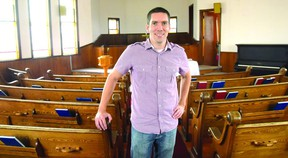 """Steve Richardson, pastor of Faith Presbyterian Church in Tillsonburg, said he would be """"sinning against God"""" if he didn't gather on Sundays with his church community. Richardson has been charged twice in the last seven weeks under the Reopening Ontario Act for holding indoor services attended by more than 10 people. (CHRIS ABBOTT/Postmedia Network)"""