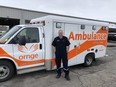 Chatham-Kent Ornge critical care paramedic Andrew Whittemore. (Supplied/Ornge)