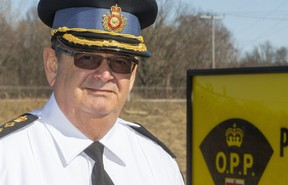 Dwight Thib is the new commander for the OPP's west region, which includes the London area. Mike Hensen/The London Free Press