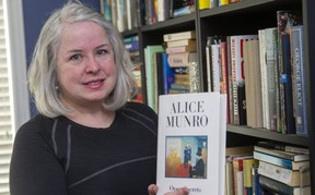 Melanie Ruse is forming an online rare book store in London. (Mike Hensen/The London Free Press)