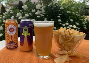 Beer and chips needn't stop with a lager and plain flavour. Try pairing an IPA with bold all-dressed chips, a stout with barbecue, or a cream ale with sour cream and onion.  (BARBARA TAYLOR/The London Free Press)