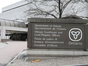 The Ottawa courthouse: The playing field at a criminal trial is not level to begin with, says Owen Wigderson. When the accused is unrepresented, the field tilts even further in the direction of the prosecution.