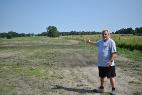 Dwayne Wilson, the owner of a septic tank and repair company called The Stool Bus, plans to turn 14 acres on his property in Strathroy-Caradoc into a dumping site for waste. (CALVI LEON, The London Free Press)
