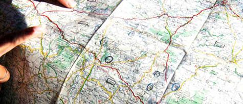 Photographic Memory Brittany map
