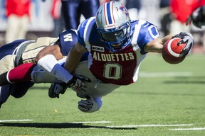 Als receiver Bo Bowling has been forced to retire until he recovers from an ankle injury. Dario Ayala/The Gazette