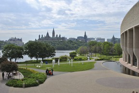 The view of Ottawa from the Museum of Civilization (Photo by Vanessa Bonneau)