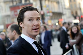 Benedict Cumberbatch at the UK Premiere of Star Trek Into Darkness, May 2, 2013 in London, England.  (Gareth Cattermole/Getty Images for Paramount Pictures)
