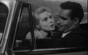 Janet Leigh and Charlton Heston in the film Touch of Evil, directed by Orson Welles. It will be shown at 5 p.m., on Saturday, March 8, 2014, at the Cinémathèque Québécoise.