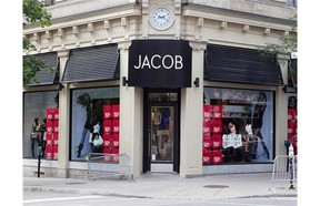 Jacob store on Ste-Catherine St. on Tuesday July 20, 2010.