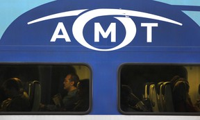 No AMT service Monday or Tuesday