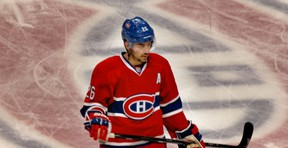 Montreal Canadiens Josh Gorges skates during warmup prior to   National Hockey League game against the Florida Panthers in Montreal Monday January 6, 2014.