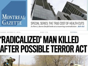 The new Montreal Gazette