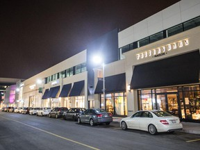 The Pottery Barn store in Brossard's DIX30 shopping strip.