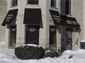 Dental Clinic Orozen Montreal, located on Sherbrooke St. W.  and St-Mathieu. Dr. Pascal Terjanian has been charged with numerous infractions by the Quebec Order of Dentists and has been described as a menace to public health.