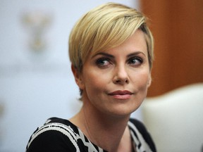 Equal pay for equal work: the N.Y. Post is reporting that Charlize Theron is insisting on the same payday as Chris Hemsworth for this picture The Huntsman. She got it, too, the paper says.