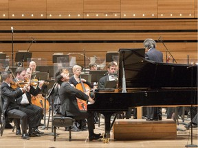 Lang Lang at the first of three performances with the OSM.