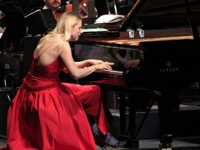 Valentina Lisitsa appeared at least three times in the late 2000s under the Lanaudière Festival auspices as a little-known discovery.