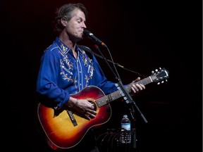 Jim Cuddy performs with Blue Rodeo at Place des Arts in Montreal, Feb. 8, 2013.