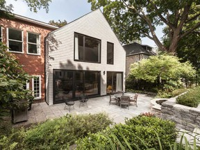 The extension was designed to give the family easy access to the outdoor dining area and garden.