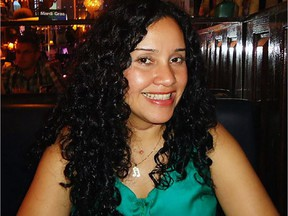 Charlie Cecilia García Larez , 36, was found dead in her Côte-des-Neiges home in May 30, 2015. Montreal police suspect Raynald Letourneau who had been living with the pregnant woman. Police have offered a reward for information leading to Letourneau's arrest. (Courtesy García family)