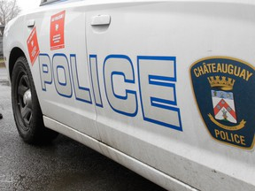 Châteauguay police car.