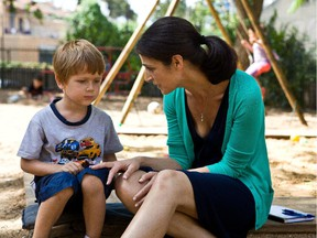 Avi Shnaidman and Sarit Larry in The Kindergarten Teacher, which premièred last year in a special screening at Cannes's Critics Week.