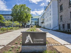 Le Monastère des Augustines, in a Quebec City monastery, is a striking new hotel with a wellness theme.