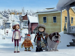 """""""With an animated film, we can keep the spirit, the characters, the comedy of the original, but at the same time we can do things that are not possible in live action,"""" says Rock Demers, who produced the 1984 kids' film La guerre des tuques and is an associate producer of the remake."""