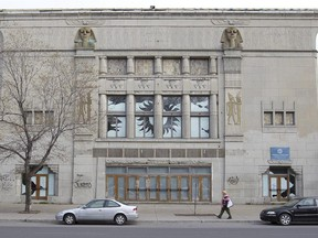 The Empress, on Sherbrooke St. W. was built in 1927 as a vaudeville theatre.