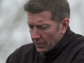 The documentary Swift Current - making its world TV première Saturday at 9 p.m. on Global - chronicles the nightmare that Sheldon Kennedy underwent at the hands and twisted mind of his predatory coach Graham James. Photo credit: Swift Current Doc