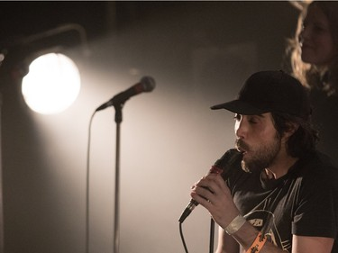 Patrick Watson performs at the Metropolis in Montreal on Tuesday December 15, 2015.