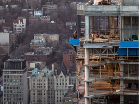 Despite a record-setting number of new condo projects under construction in Montreal, eager buyers are snapping up condos so quickly that builders are struggling to keep up with demand.