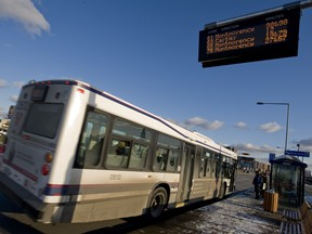 Laval transit service will be free on Christmas Eve and New Year's Eve.