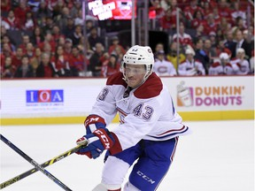 Montreal Canadiens forward Daniel Carr will miss three months with an injury to his right knee.