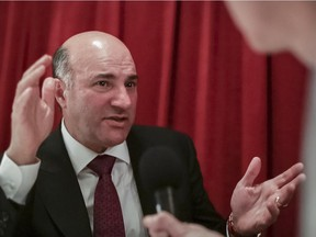 Kevin O'Leary announced before Christmas he has a group of advisers exploring a possible leadership run and is seeking public input through a website.