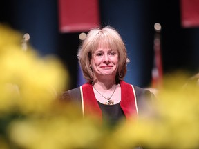Kathy Reichs received an honorary degree from Concordia University in 2011.   The bestselling author and forensic anthropologist, will be speaking there Monday night as part of the university's Thinking Out Loud series.