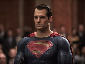 Henry Cavill as Superman in Warner Bros. Pictures' action adventure Batman v Superman: Dawn of Justice, a Warner Bros. Pictures release.