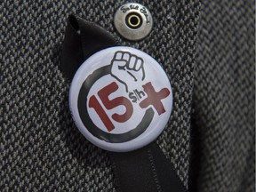15plus.org is a Quebec group that is fighting for an increase to the minimum wage.